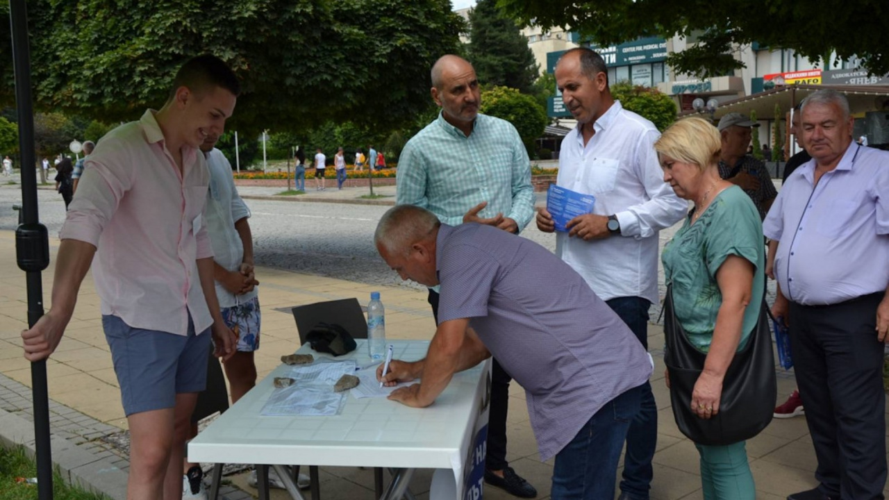 Над 2000 в Кърджали се включиха в подписка с искане за околовръстен път, който да облекчи трафика през града