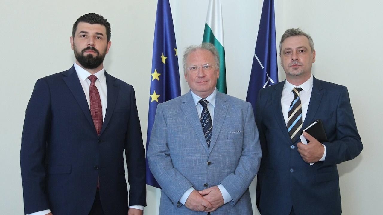 Светлан Стоев прие ръководството на партията Граждански демократичен съюз от Република Северна Македония