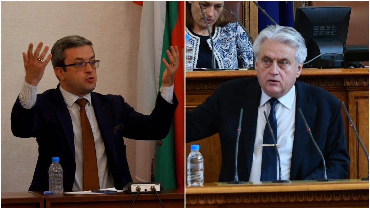 Биков към Рашков: Нищо не направихте като шеф в най-мутренските времена! Той: Съжалявам, че не се справих с Борисов