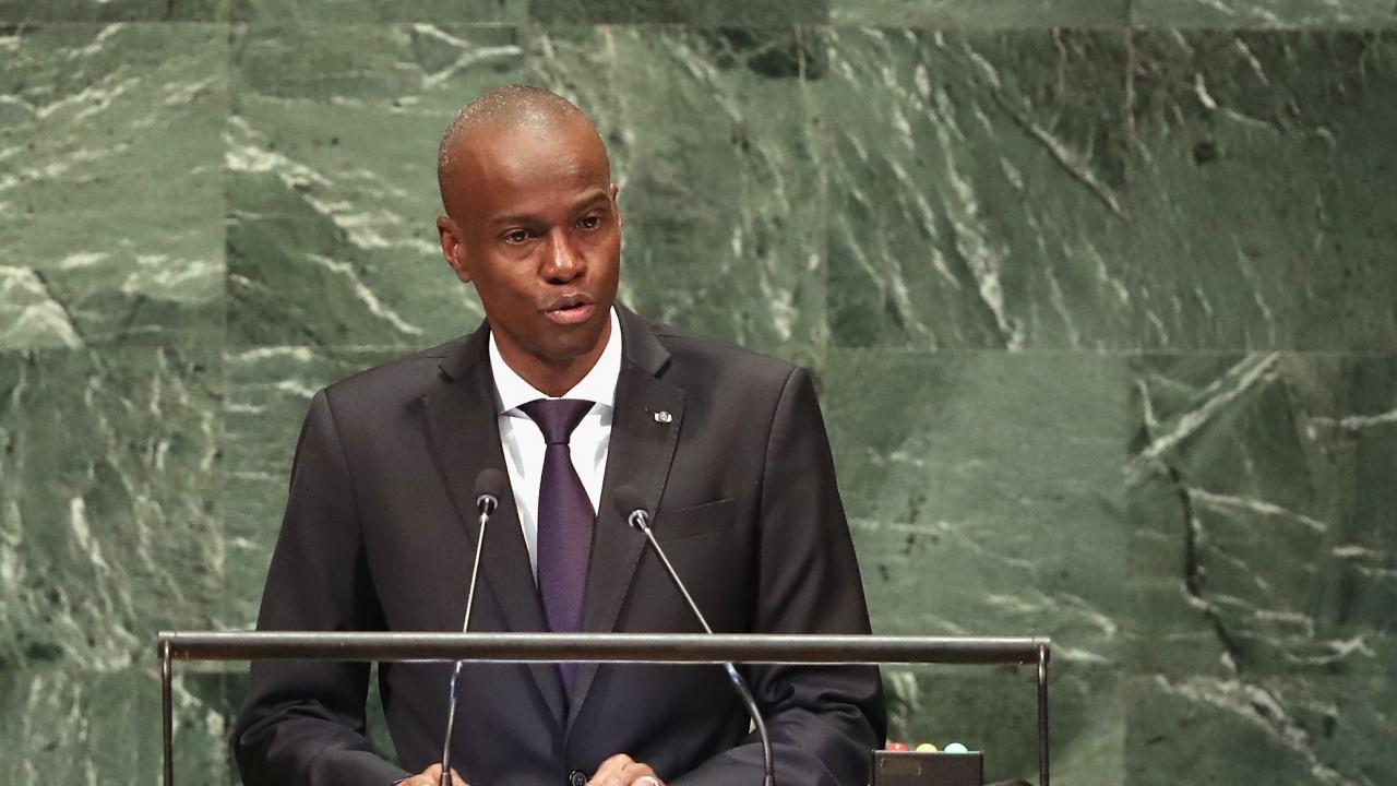 Погребаха убития президент на Хаити