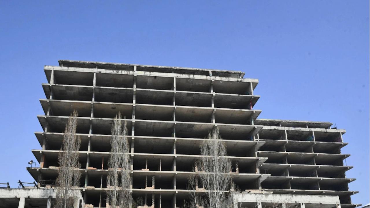 МЗ окончателно се отказа от недовършения строеж за детската болница
