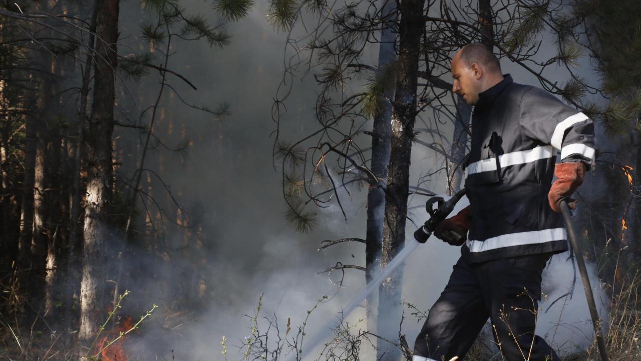 Зачестяват пожарите в Ямболско