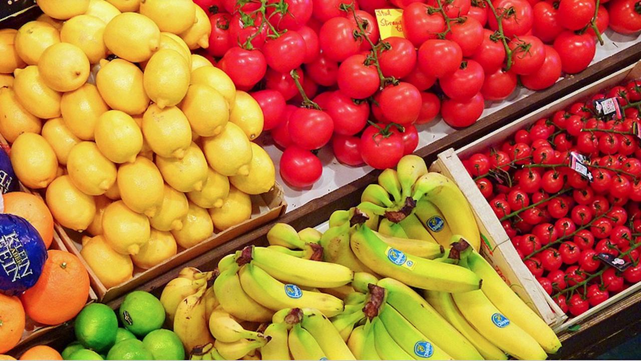 Скок в цените на основните храни, плодове и зеленчуци