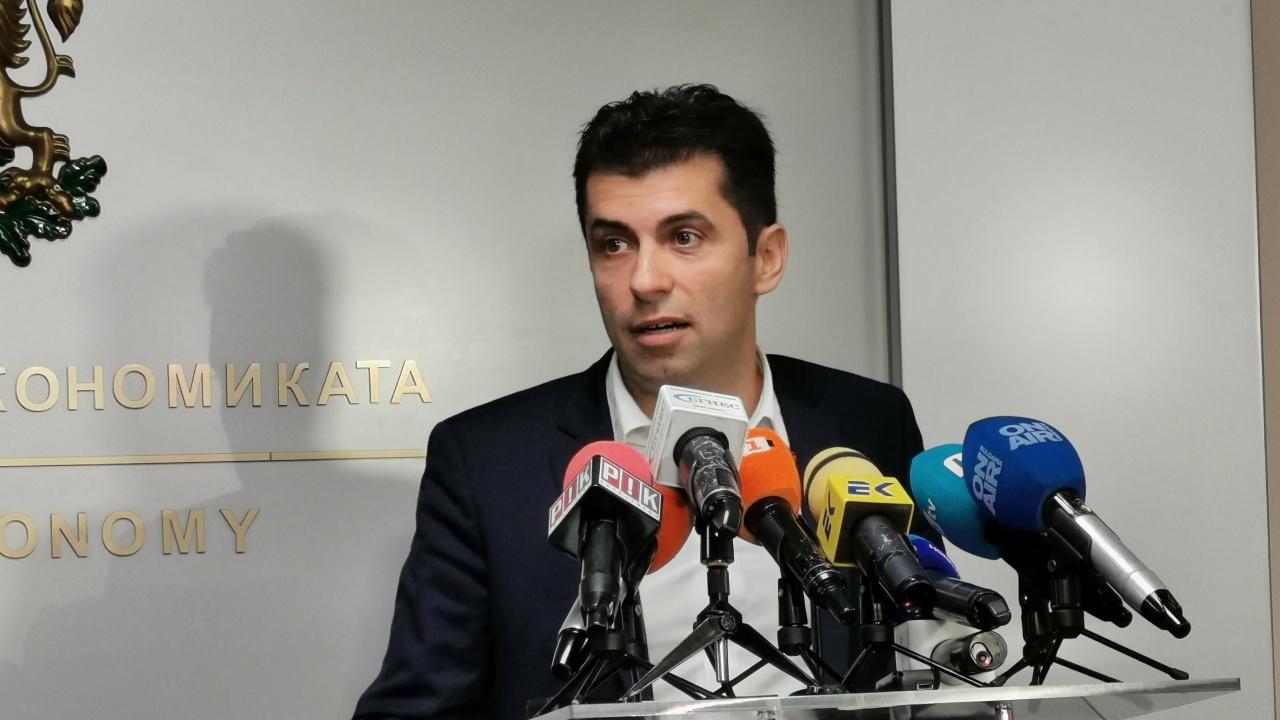 НА ЖИВО: Министър Кирил Петков връчва три сертификата клас А по реда на Закона за насърчаване на инвестициите