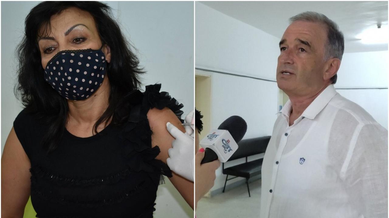 Кметът на Асеновград се ваксинира срещу COVID-19