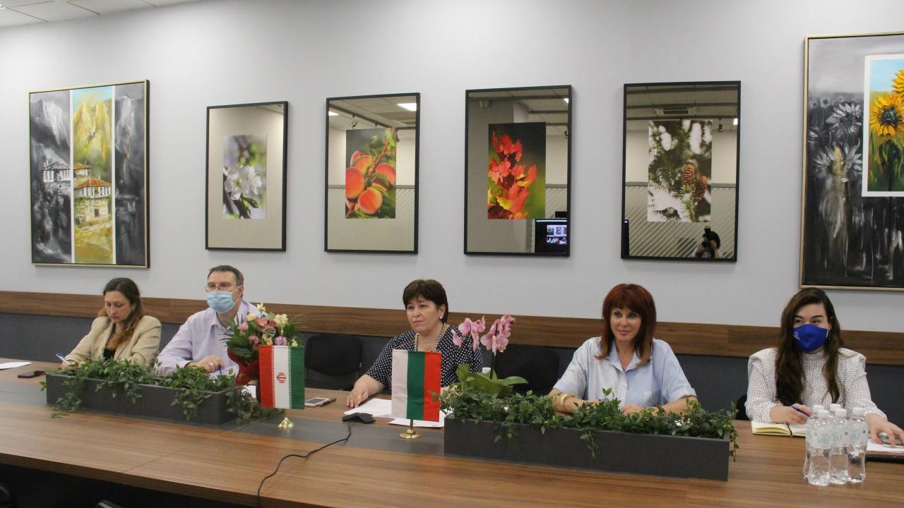 Министрите на туризма на България и Иран подписаха Програма за сътрудничество в областта на туризма до 2024 г.