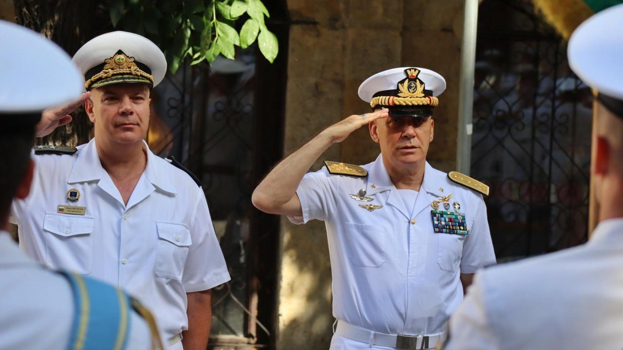 Командващият ВМС на Италия е на посещение във Варна