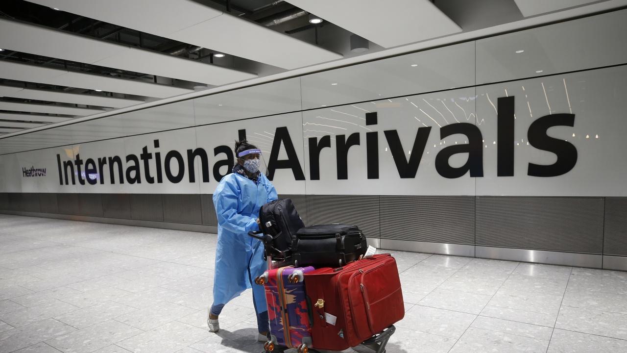 Англия отмени карантината за изцяло ваксинирани пътници от САЩ и ЕС