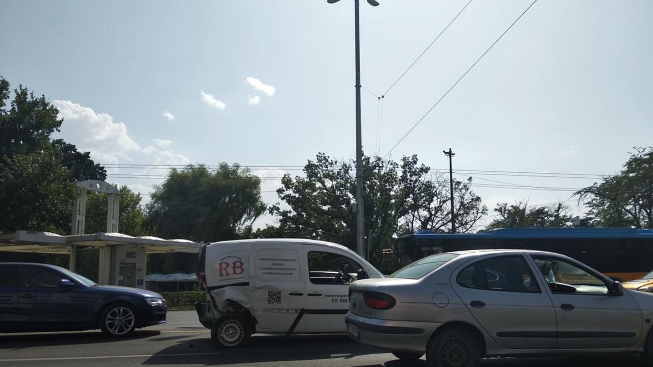 Верижна катастрофа в района на Орлов мост