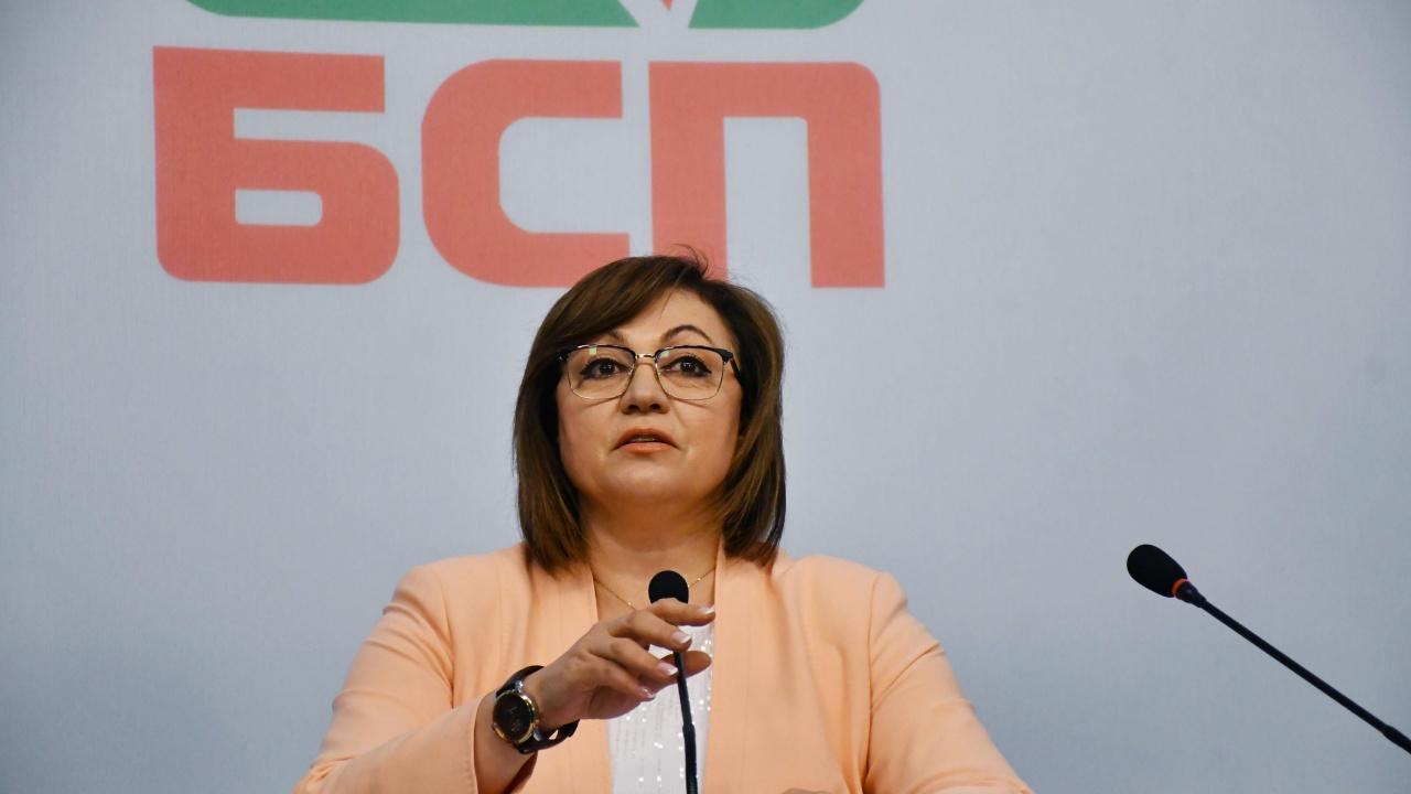 Нинова: Без БСП няма да има стабилно правителство