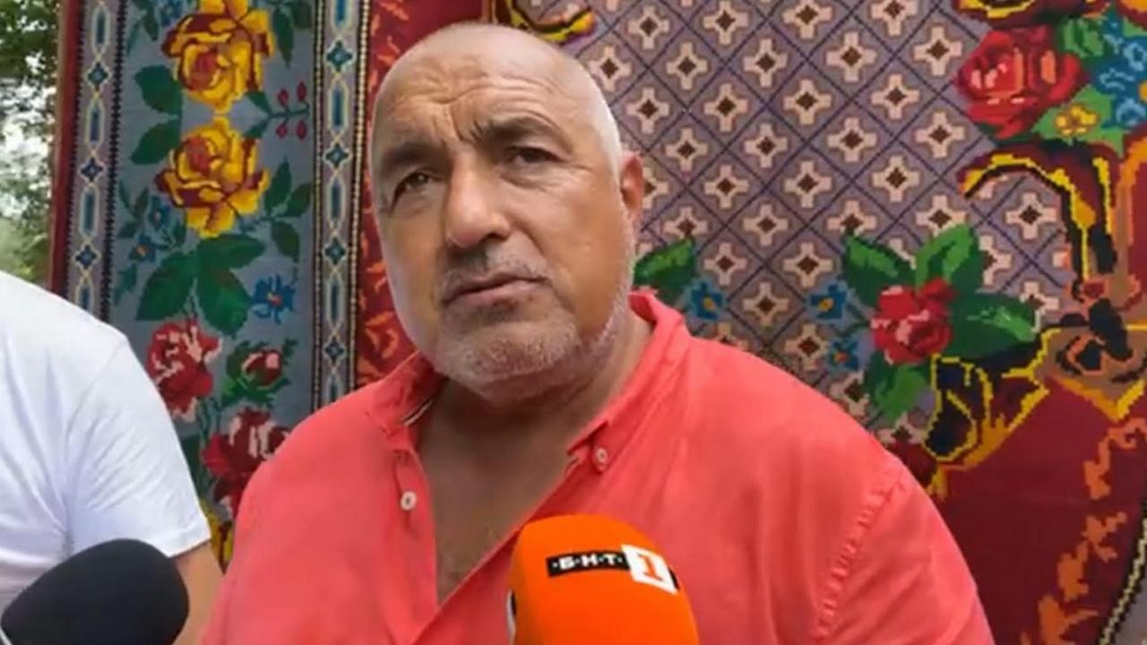 Борисов в Котел: Сгромоляса се митът за успешното правителство на Радев