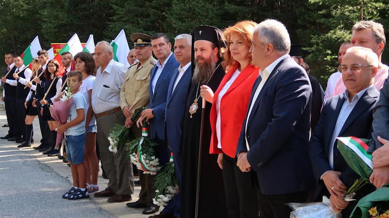 Йотова пред паметника на Гоце Делчев на Попови ливади: България няма да допусне език на омразата и подмяна на историята