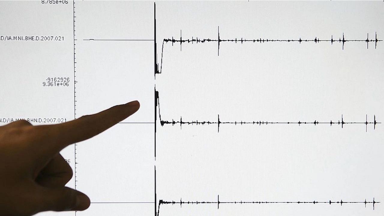 Земетресение с магнитуд 5,2 люшна Исландия
