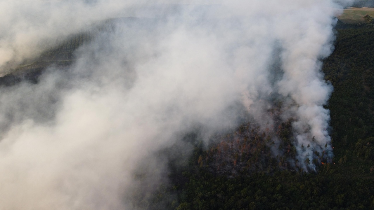 Голям пожар в Стара Планина