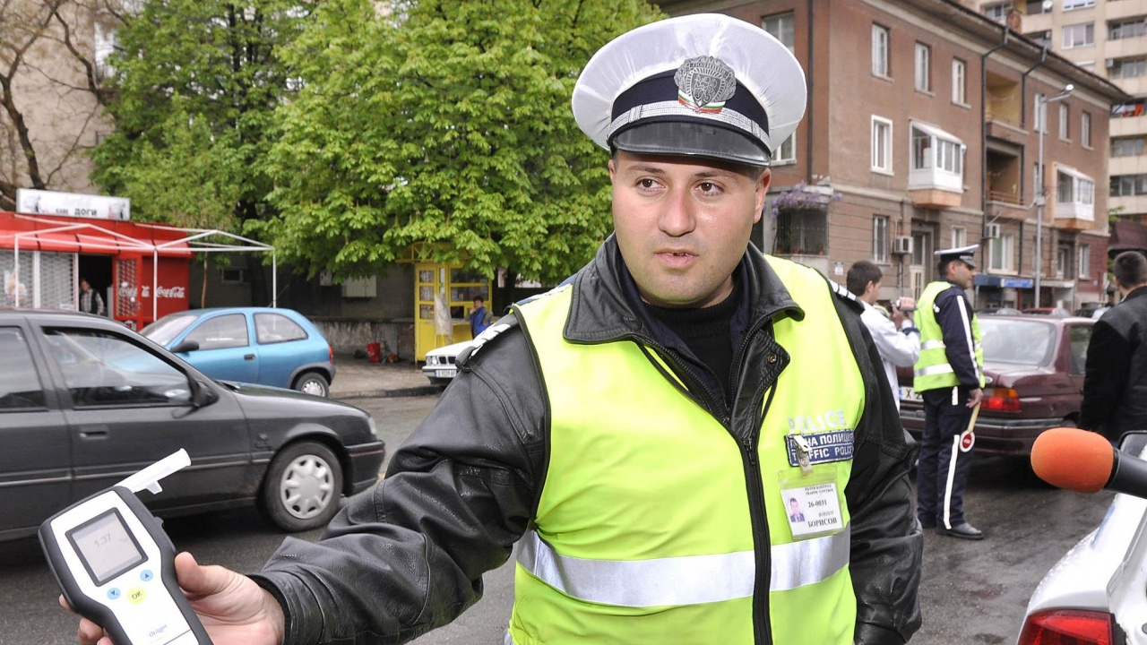 Шофьор с 3 промила алкохол е бил установен в Сливенско