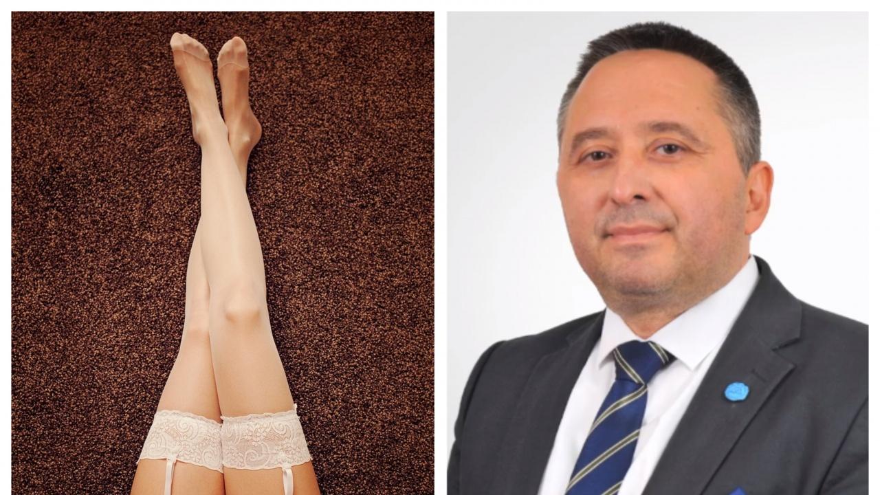 """""""В понеделник сутрин - на червения килим"""" - кандидатът за министър на правосъдието от ИТН иска студентка само по жартиери"""