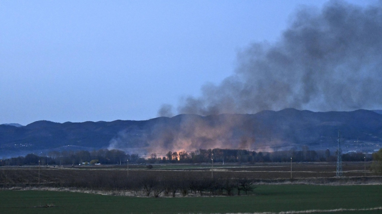 Опасност! Дневно в страната има по 200-240 пожара