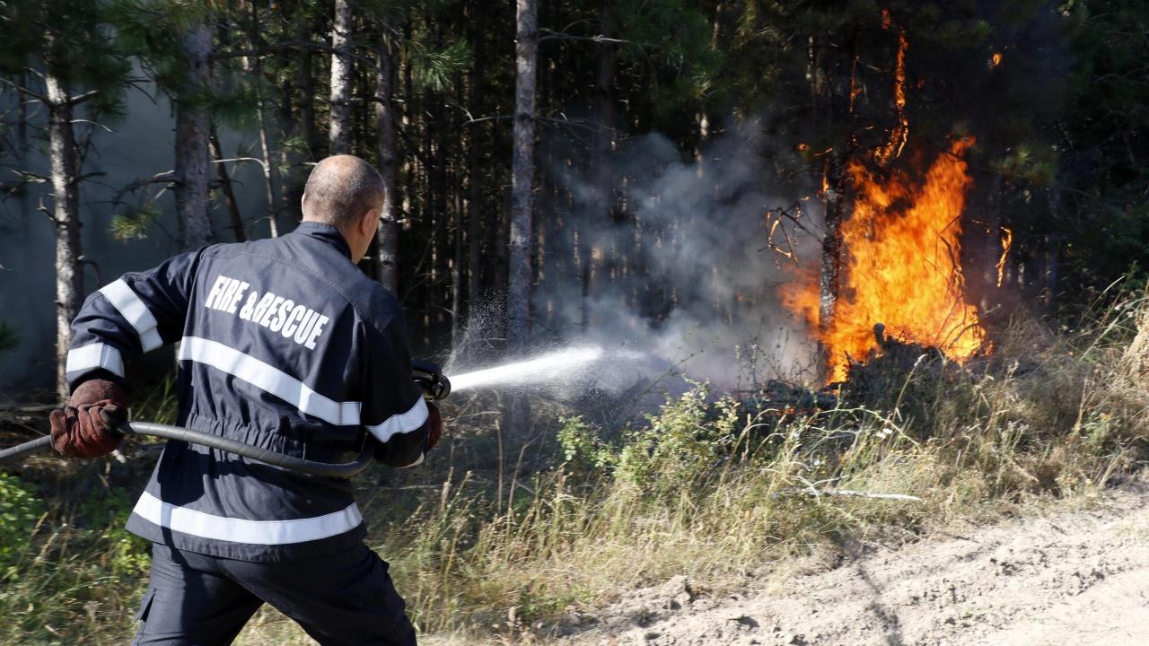 Седем пожара са гасили екипи в Сливенско