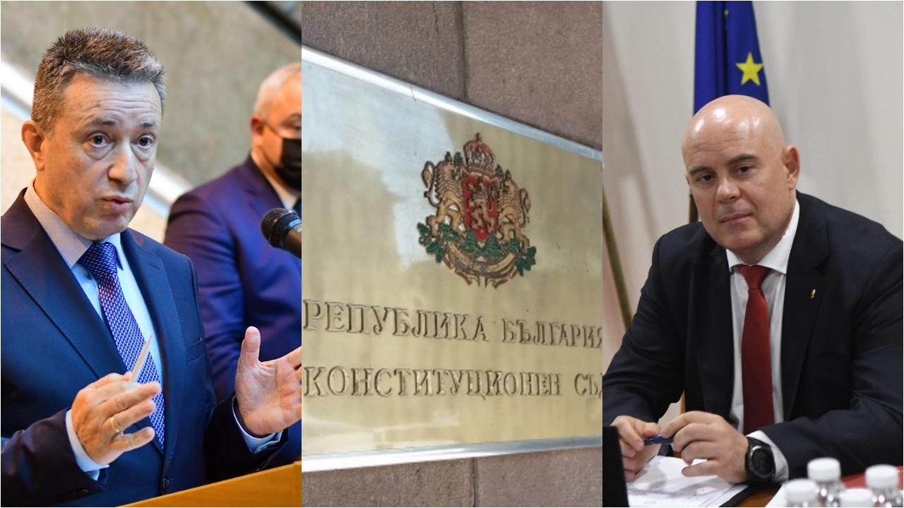 Янаки Стоилов пита КС дали може да освободи предсрочно главния прокурор