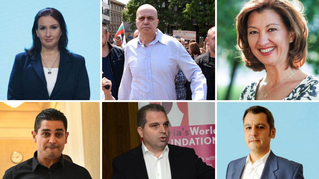 Биографии: Ето кои са министрите на Слави
