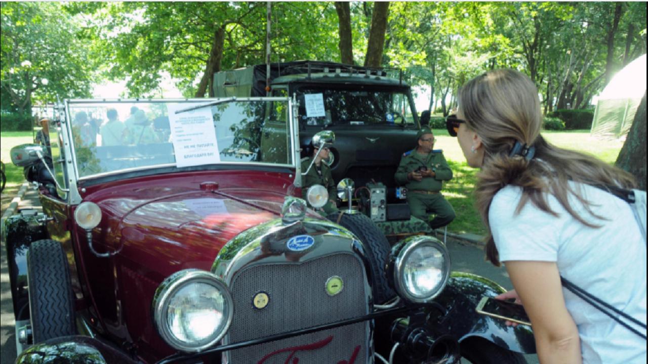 За пета поредна година Видин е домакин на ретро парад на автомобили