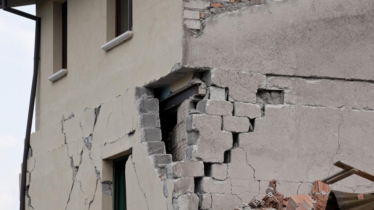 Земетресение в турския окръг Кайсери