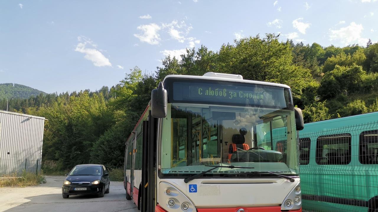 """И автобусът в Смолян """"проговори"""""""