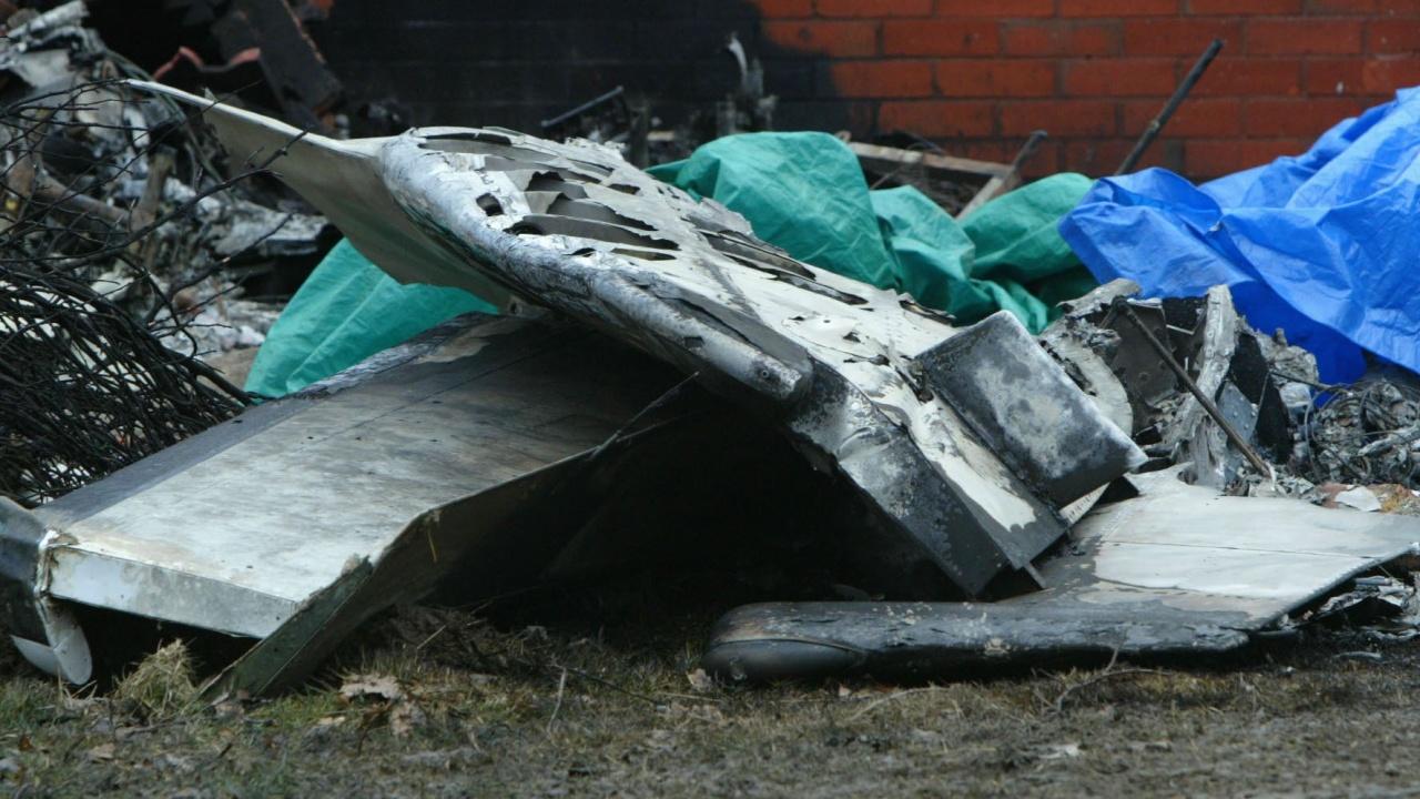 Трима души загинаха след падане на самолет във Франция