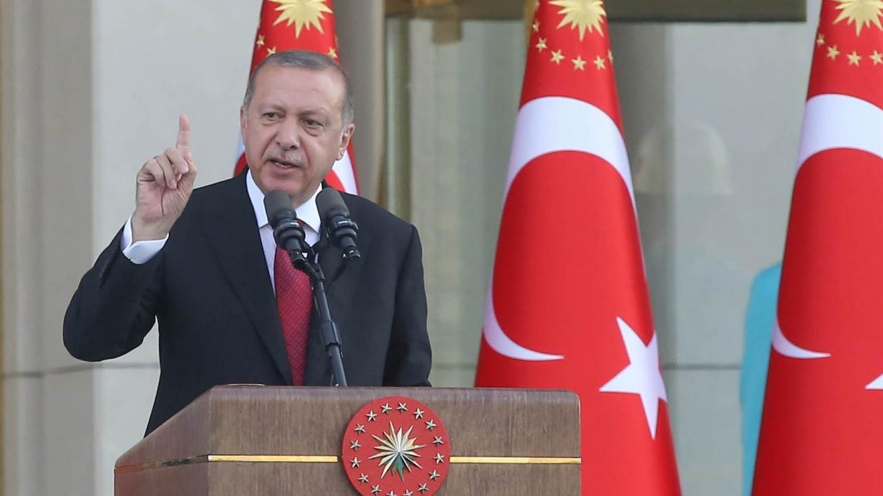 Реджеп Ердоган: Терористи подпалиха Турция