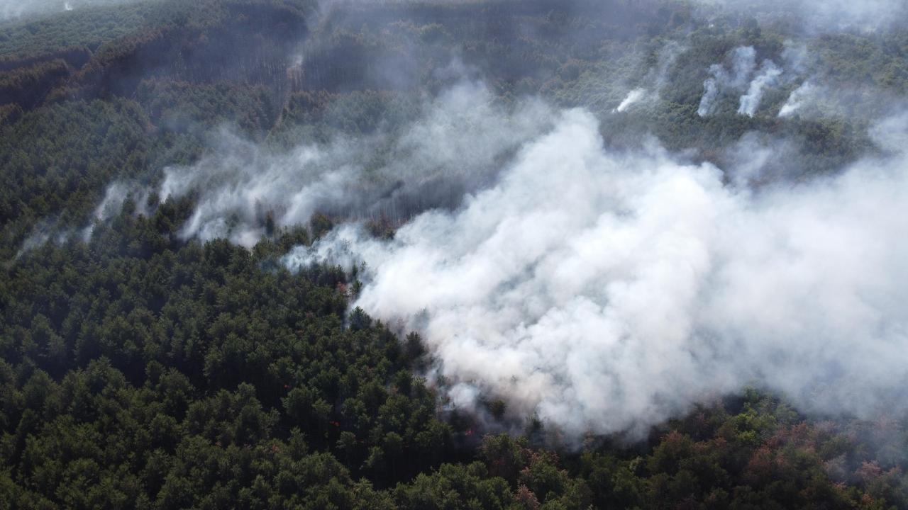Обявиха частично бедствено положение в община Велинград заради разрастващи се пожари