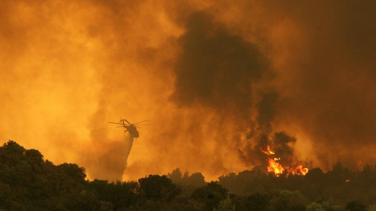 Под 10 % е вероятността пожарът от Северна Македония да влезе на наша територия