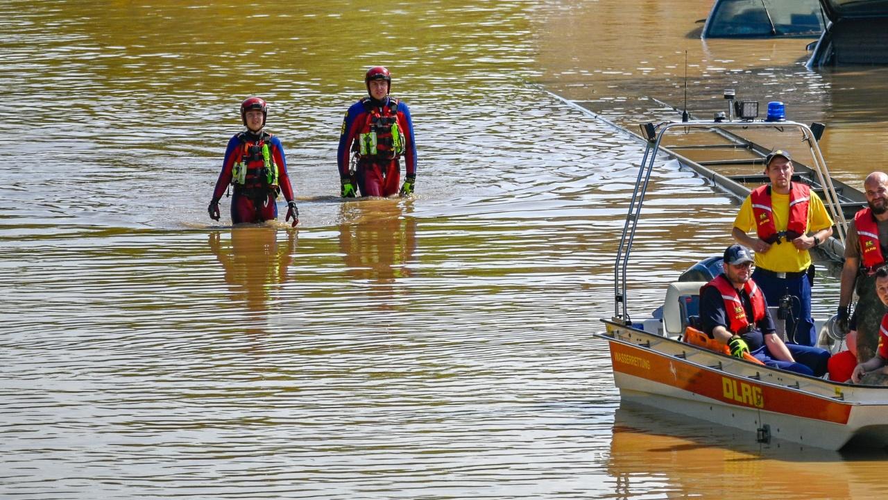 Погнаха германски управник заради наводненията