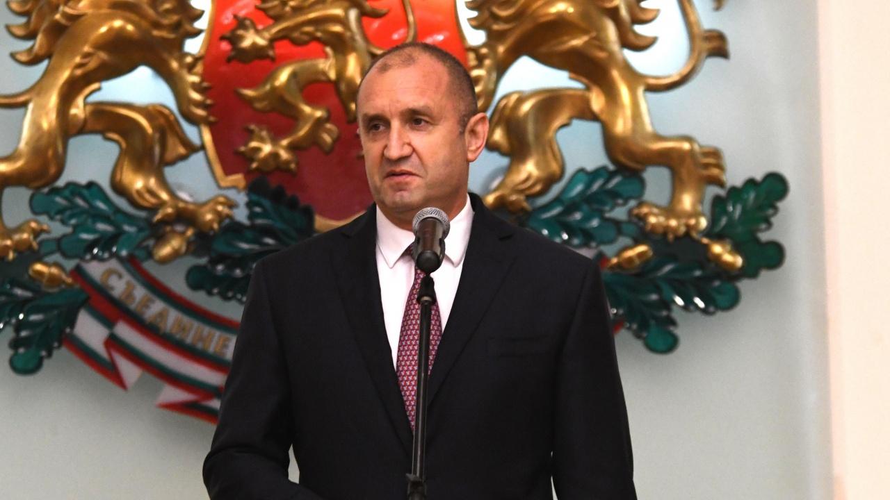 Президентът изказва съболезнования на семейството и колегите на Радосвет Радев