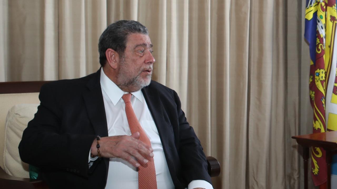 Раниха премиера на Сейнт Винсънт и Гренадини