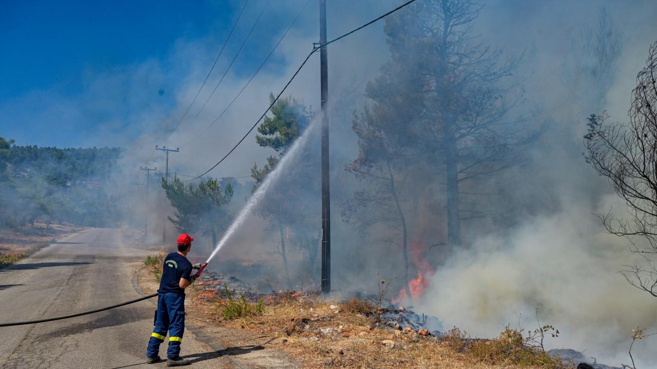 Четири деца са причинили пожара край Велинград след игра с кибрит