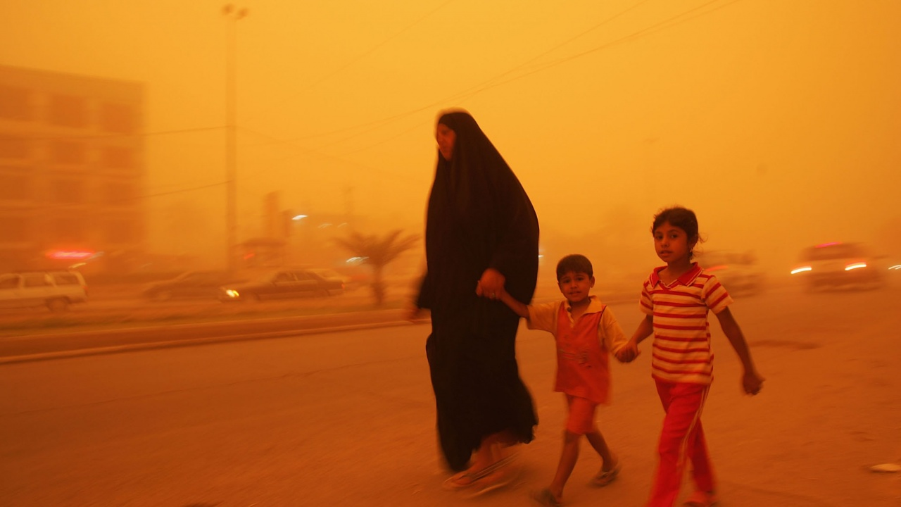 Мощна пясъчна буря удари Турция