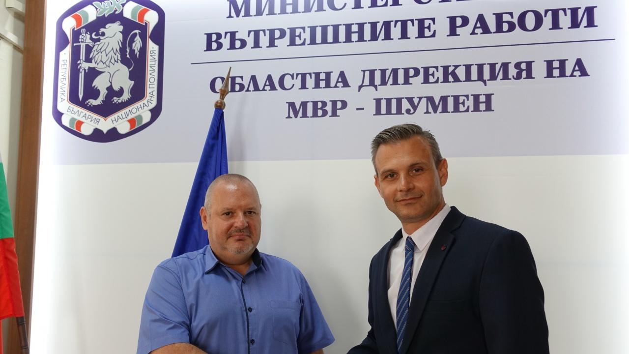 Ст. комисар Георги Гендов е новият директор на ОДМВР - Шумен