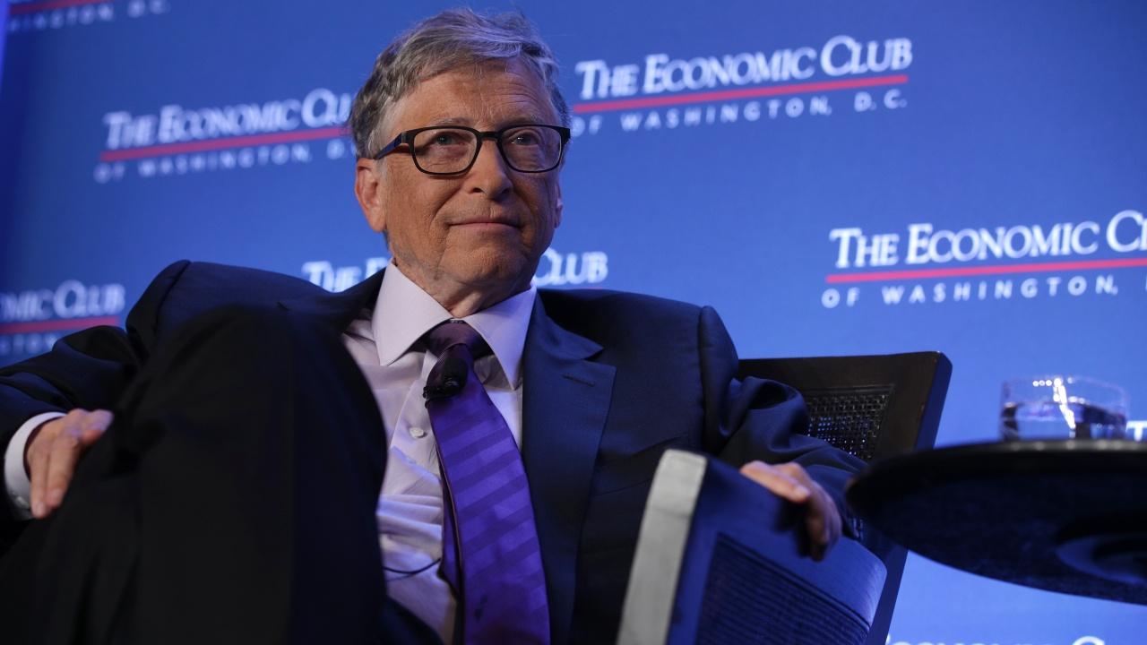 Бил Гейтс обеща 1,5 млрд. долара за инфраструктурни проекти, свързани с климатичните промени