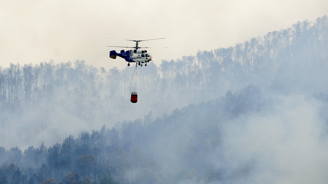 Пожар в Каталуния бе загасен, но ситуацията в цяла Испания остава рискова