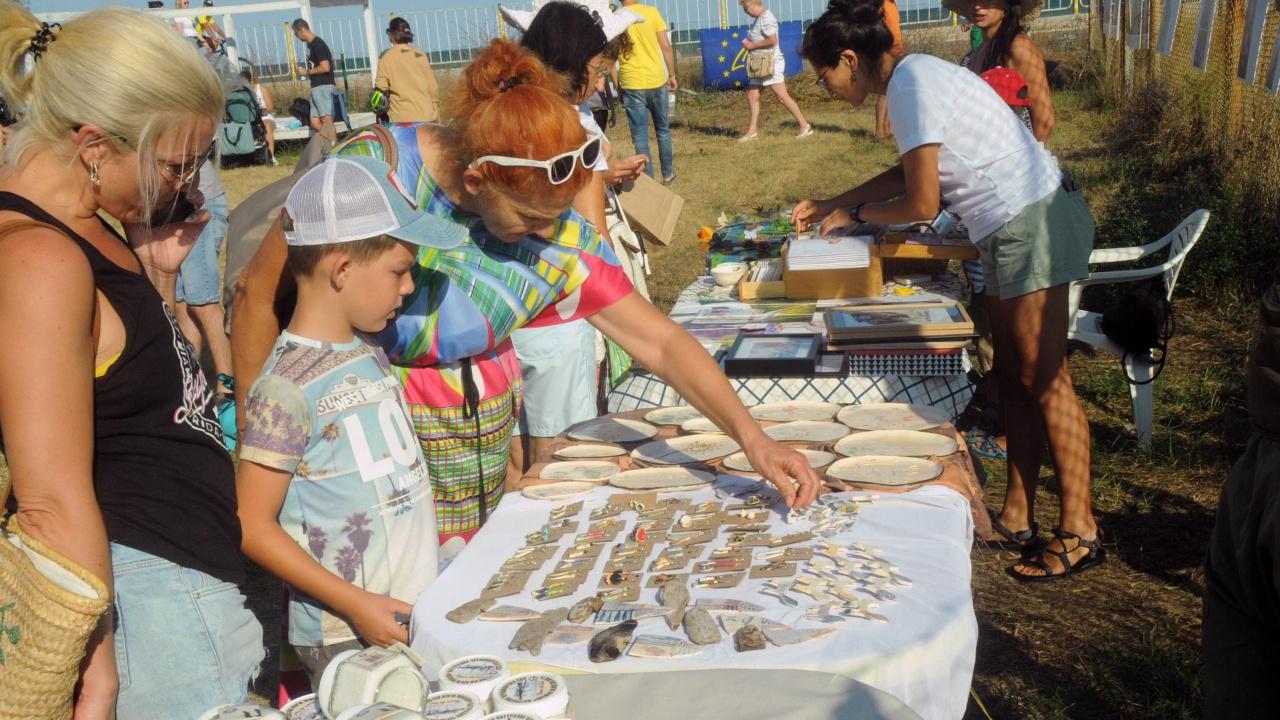 Панаир на солта и рожден ден на резерват Атанасовско езеро се провежда до Бургас