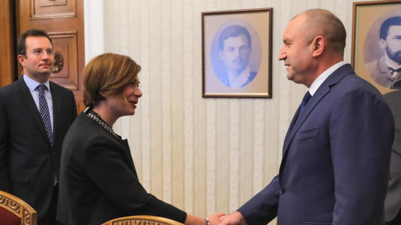 Президентът разговаря с турския посланик - обсъдиха миграционния натиск