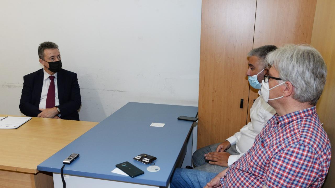 Янаки Стоилов се срещна със заместник-председателя на Българския културен клуб в Скопие