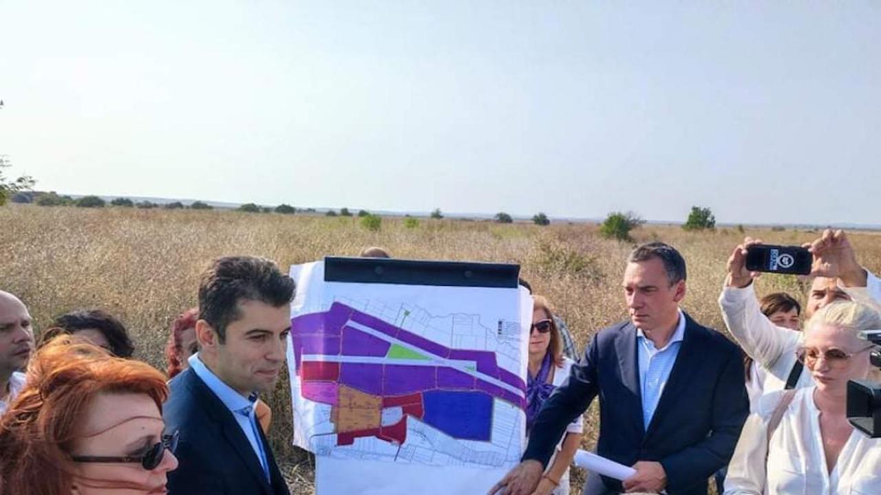 """Съвместна група на Министерството на икономиката и община Бургас ще развива потенциала на """"Индустриална база-Равнец"""""""