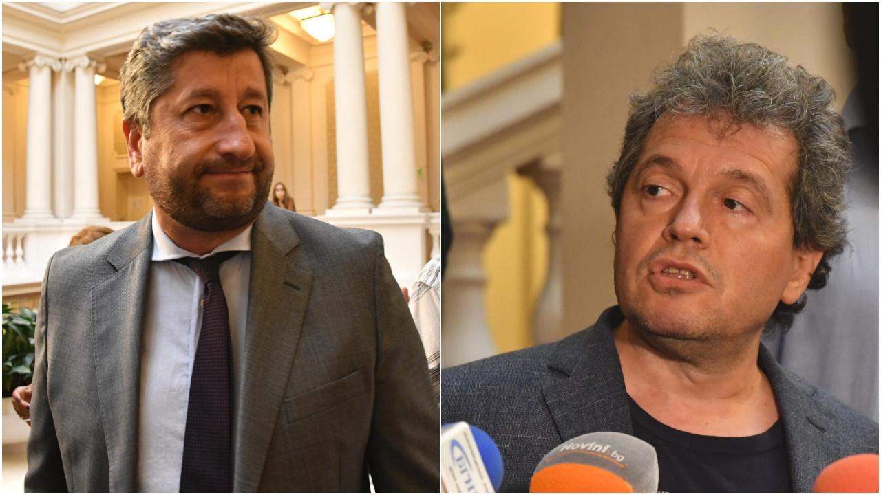 Престрелката продължава: Христо Иванов отвърна на Тошко Йорданов