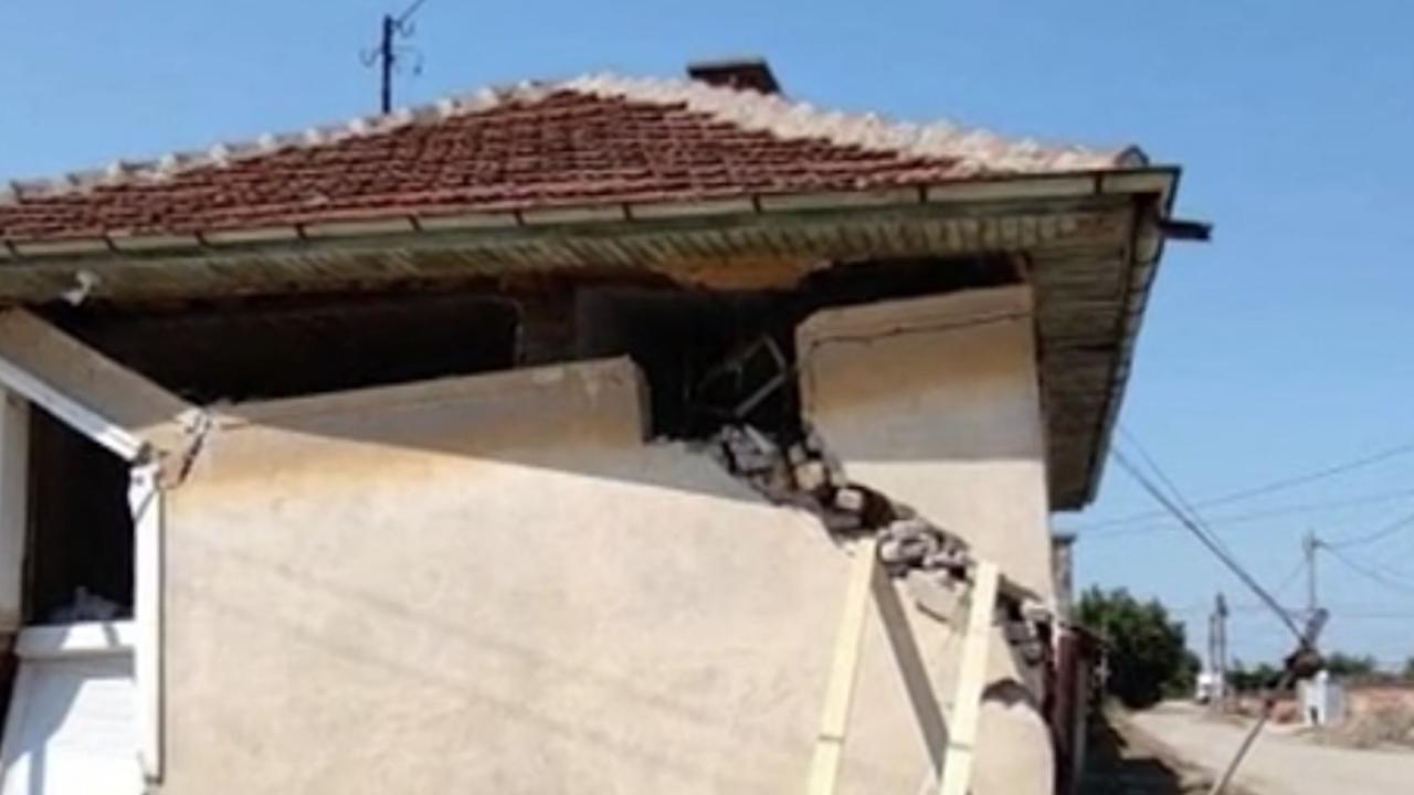Учителка от пловдивско село остана без дом