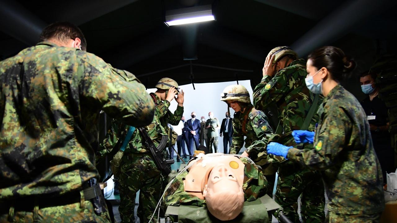 Във ВМА откриха уникален Военномедицински симулационен тренировъчен център