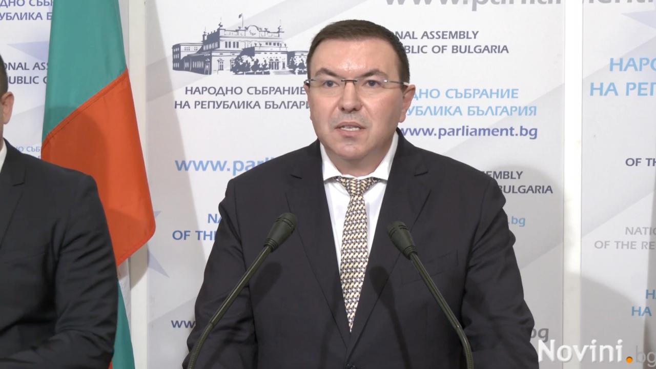 От ГЕРБ - СДС поискаха Радев да поеме политическа отговорност и да уволни министър Кацаров
