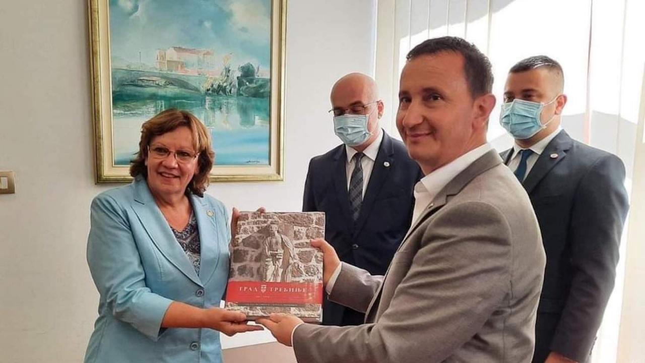 Ловеч и Требине подписаха Споразумение за сътрудничество