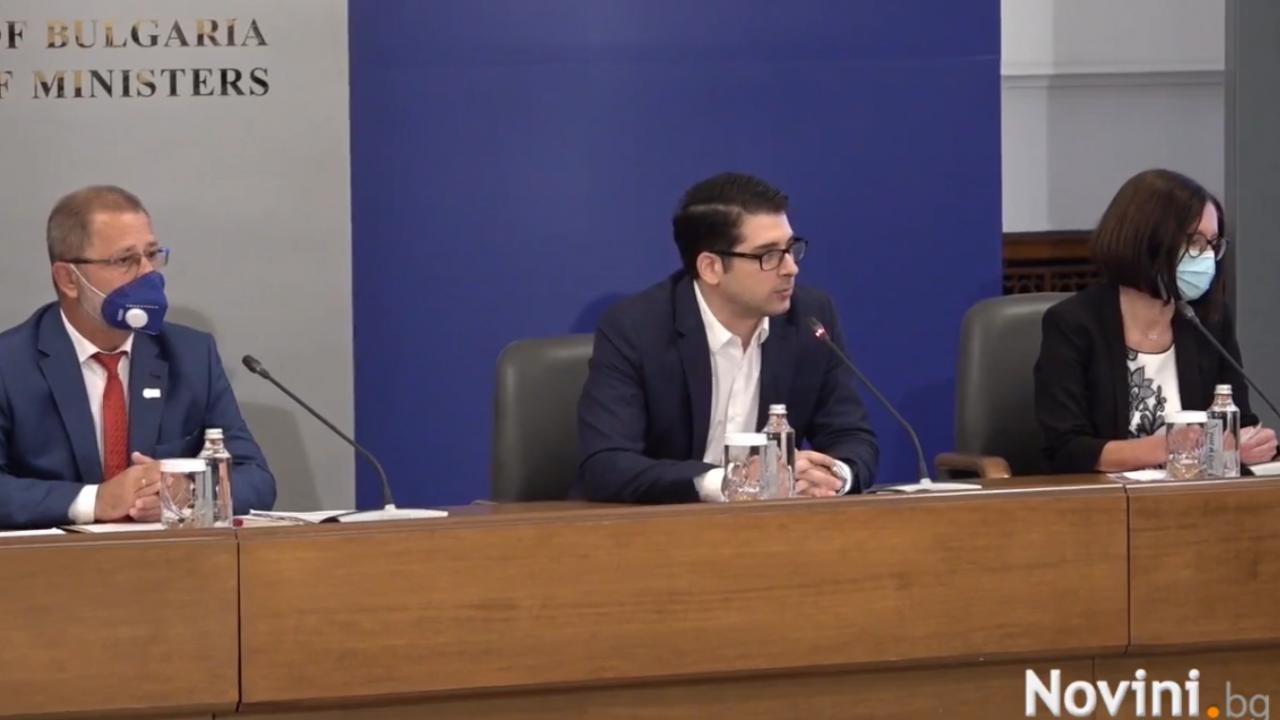 """Откриха кампанията """"Преброяване 2021"""", вицепремиерът Пеканов и шефът на НСИ с призив"""