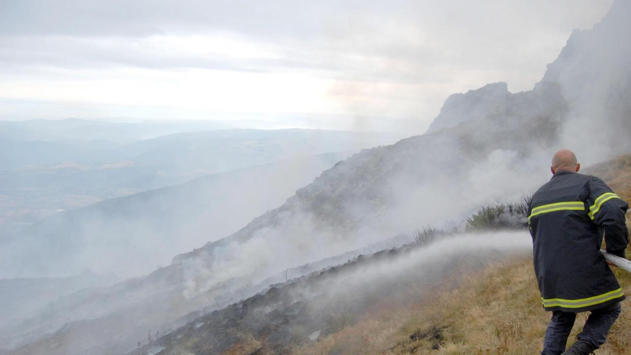 Прокуратурата разследва причините за горския пожар край село Стоманци